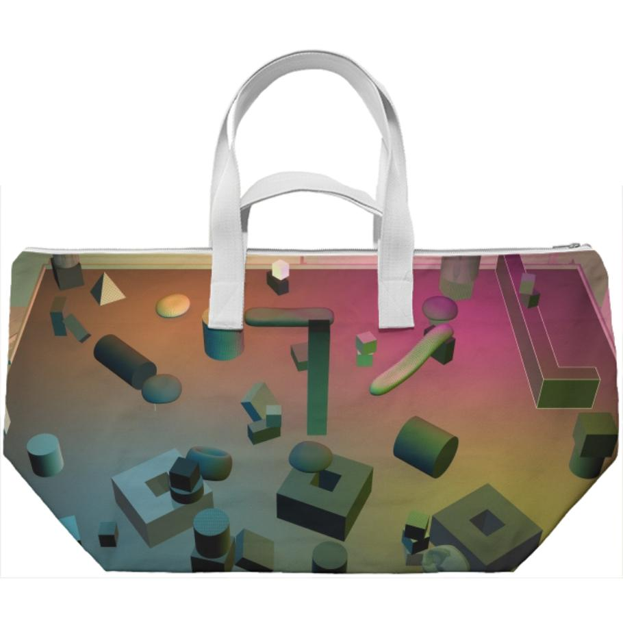 PAOM, Print All Over Me, digital print, design, fashion, style, collaboration, various-projects, various projects, Weekend Bag, Weekend-Bag, WeekendBag, Day, for, Night, Reflect, Lounge, autumn winter spring summer, unisex, Poly, Bags