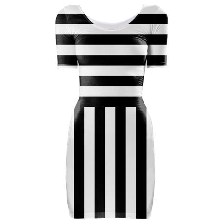 Stripes Inspired by Valentino Dress