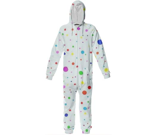 Wonder Dots Cozy Onesie