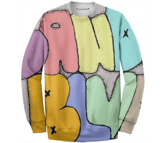 Graphiti Sweater