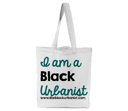I Am a Black Urbanist Canvas Tote