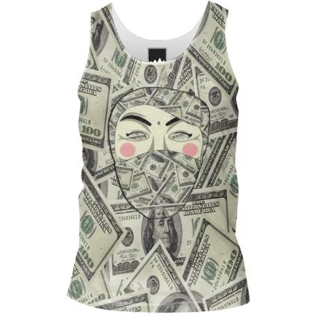 USA MoneyBandit 1 4 Tank Top Men