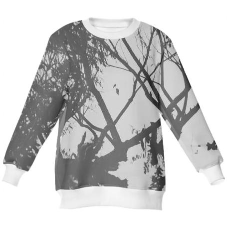 SV Black and White Sweatshirt