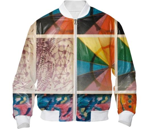 Rainbow Collage Jacket