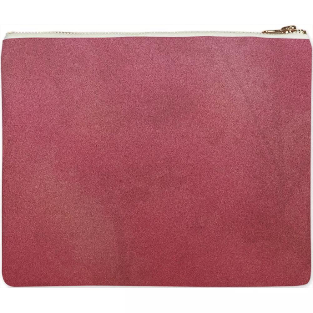 Pink Cherry Blossom Natural Gradient Clutch
