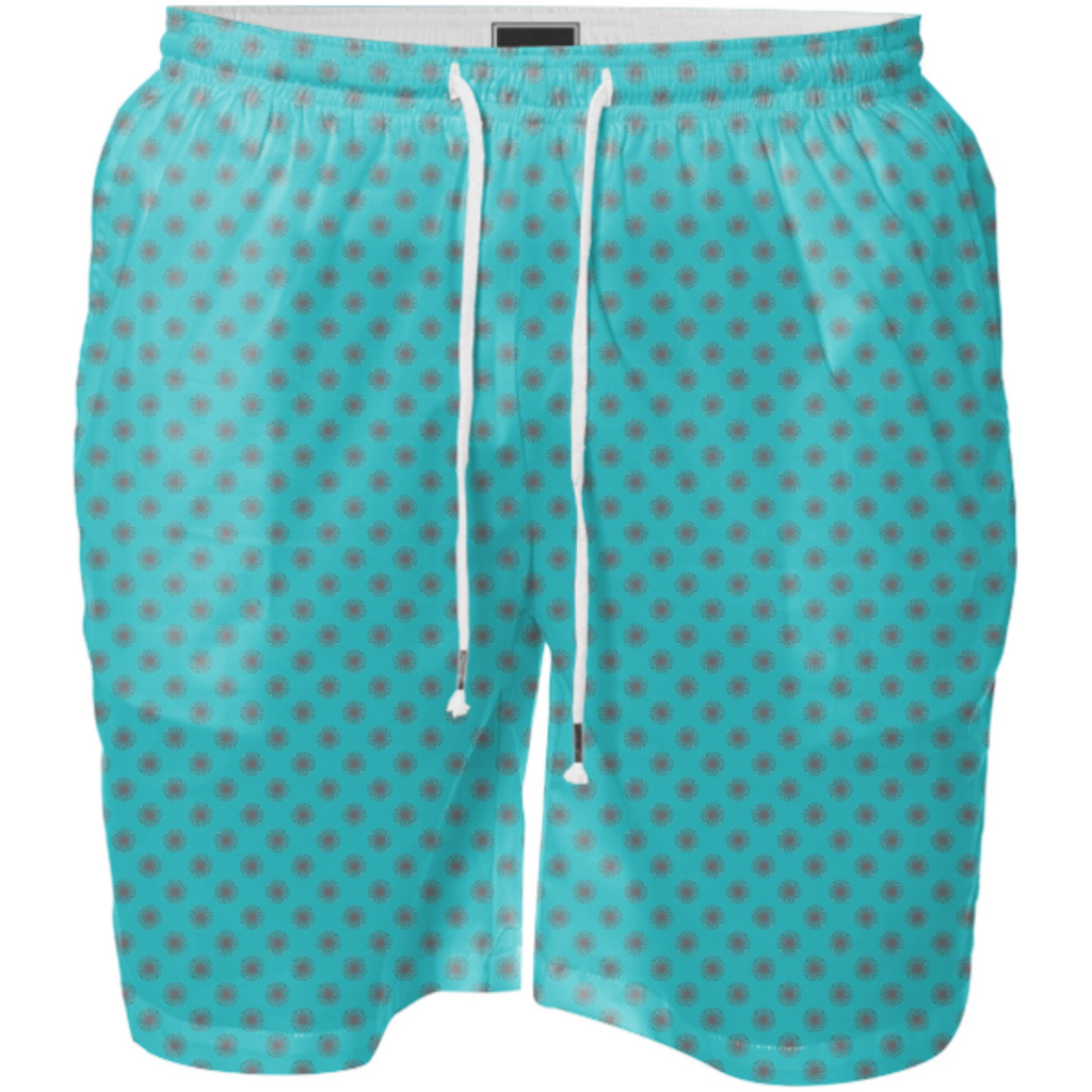 Abstract Dots Explosion Swim Short