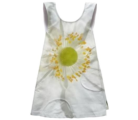 Little Flowered Apron Dress