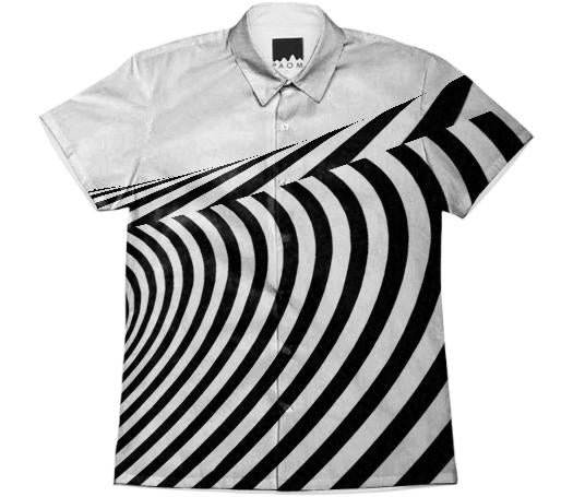Optical illusion Short Sleeve Workshirt 1