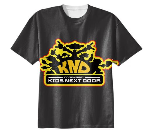 Kids Next Door Grey Tee