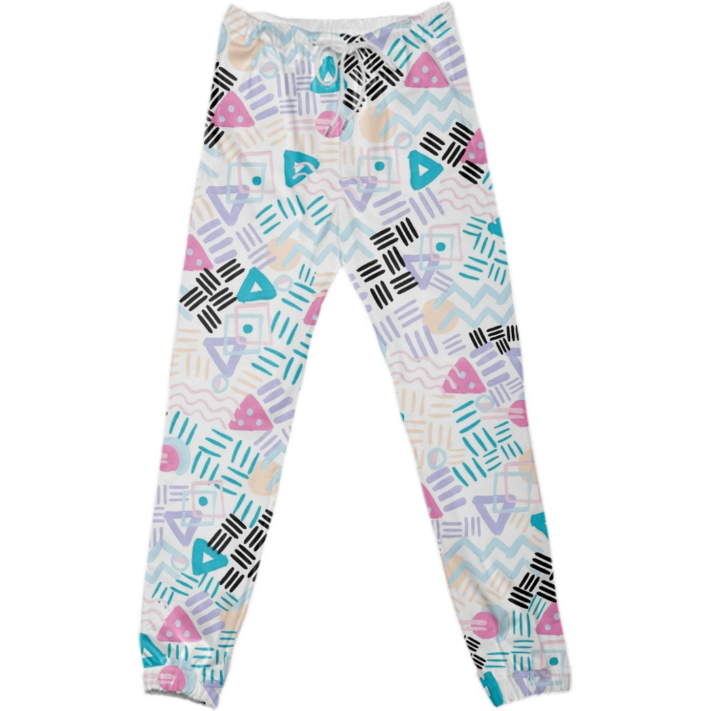 VIBRATION GROUP wht cotton pants