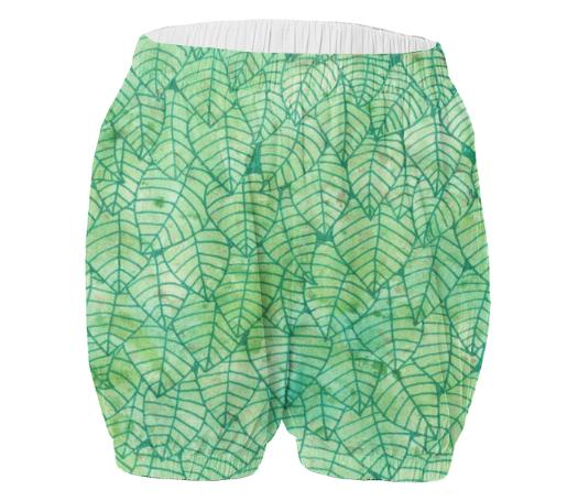 Green foliage VP Adult Bloomers