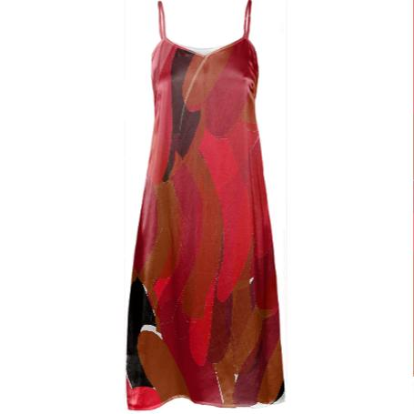 Lipstick Sonia Slip Dress