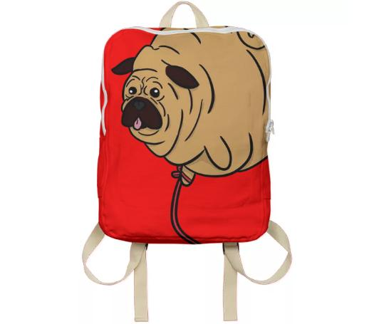 The Big Bork Bag Red