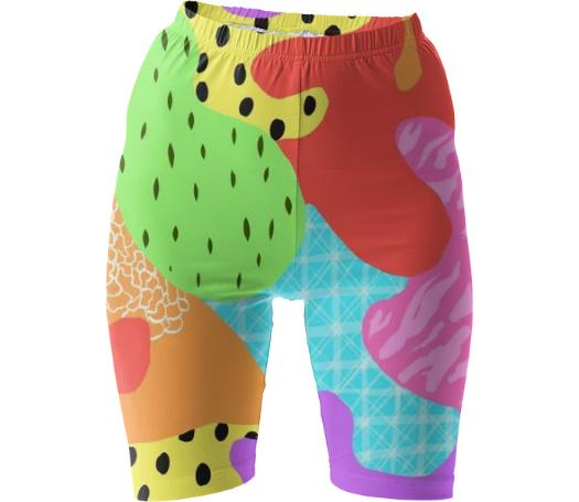Fruit Funk Gym Shorts