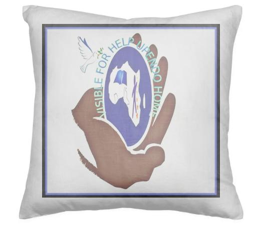 visible 4 Help Upendo Home Pillow