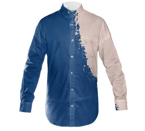 tidal wave collared shirt