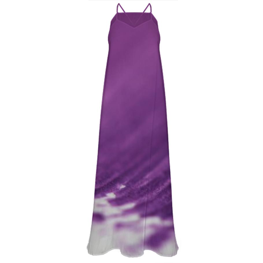 LUXURY LADIES PURPLE STORM DRESS
