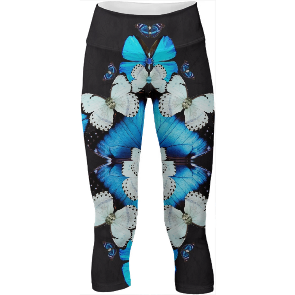 Iron Butterfly Cropped Legging