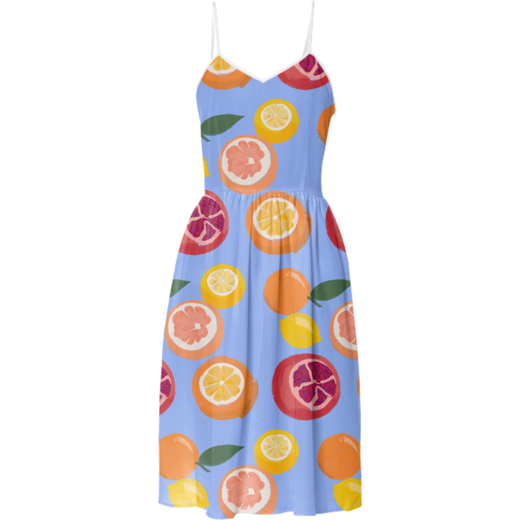 Fruity Flip Dress