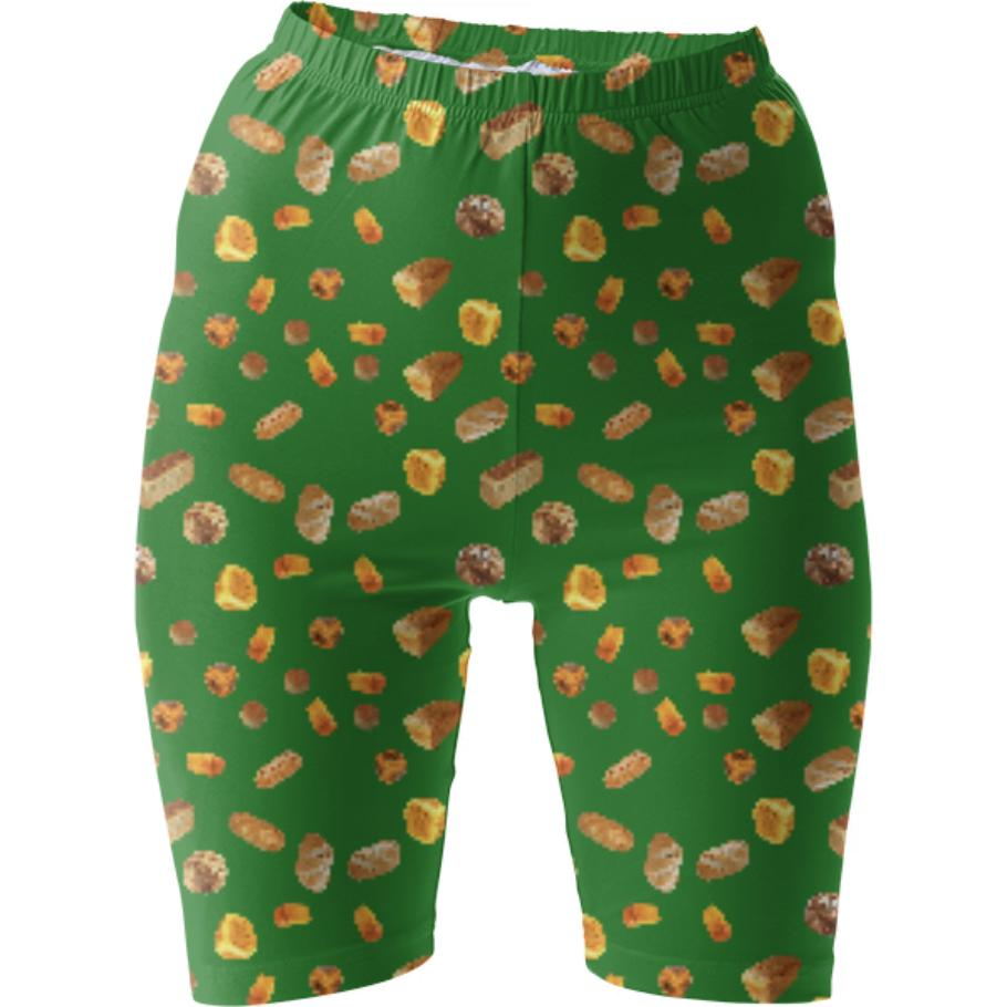 Green Bread Shorts