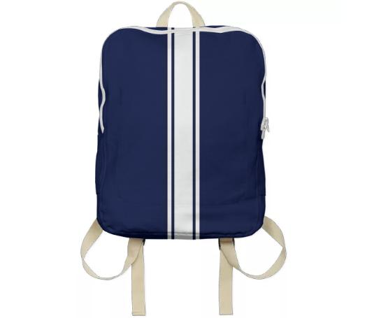 Race Car Stripe Bag 0001