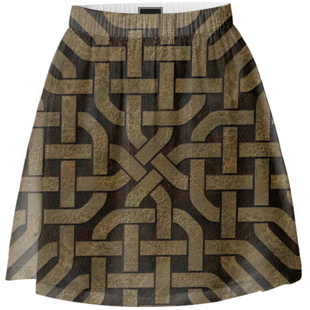 Light Celtic Knot Summer Skirt