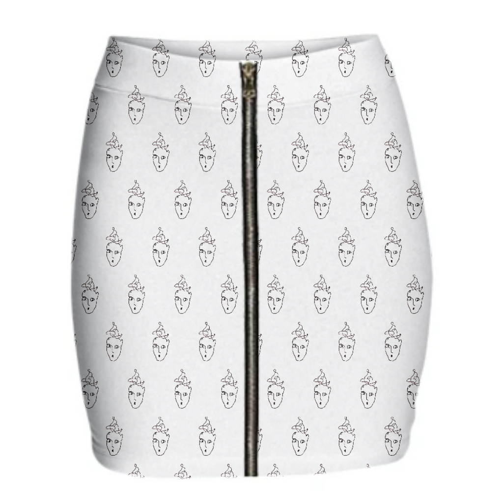 Cloudy Men Skirt