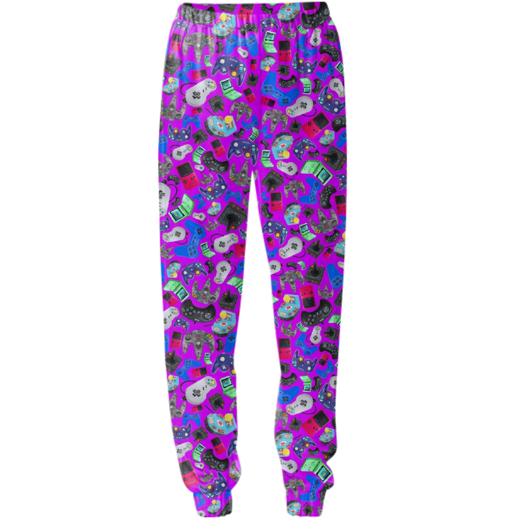 90s game controller sweatpant