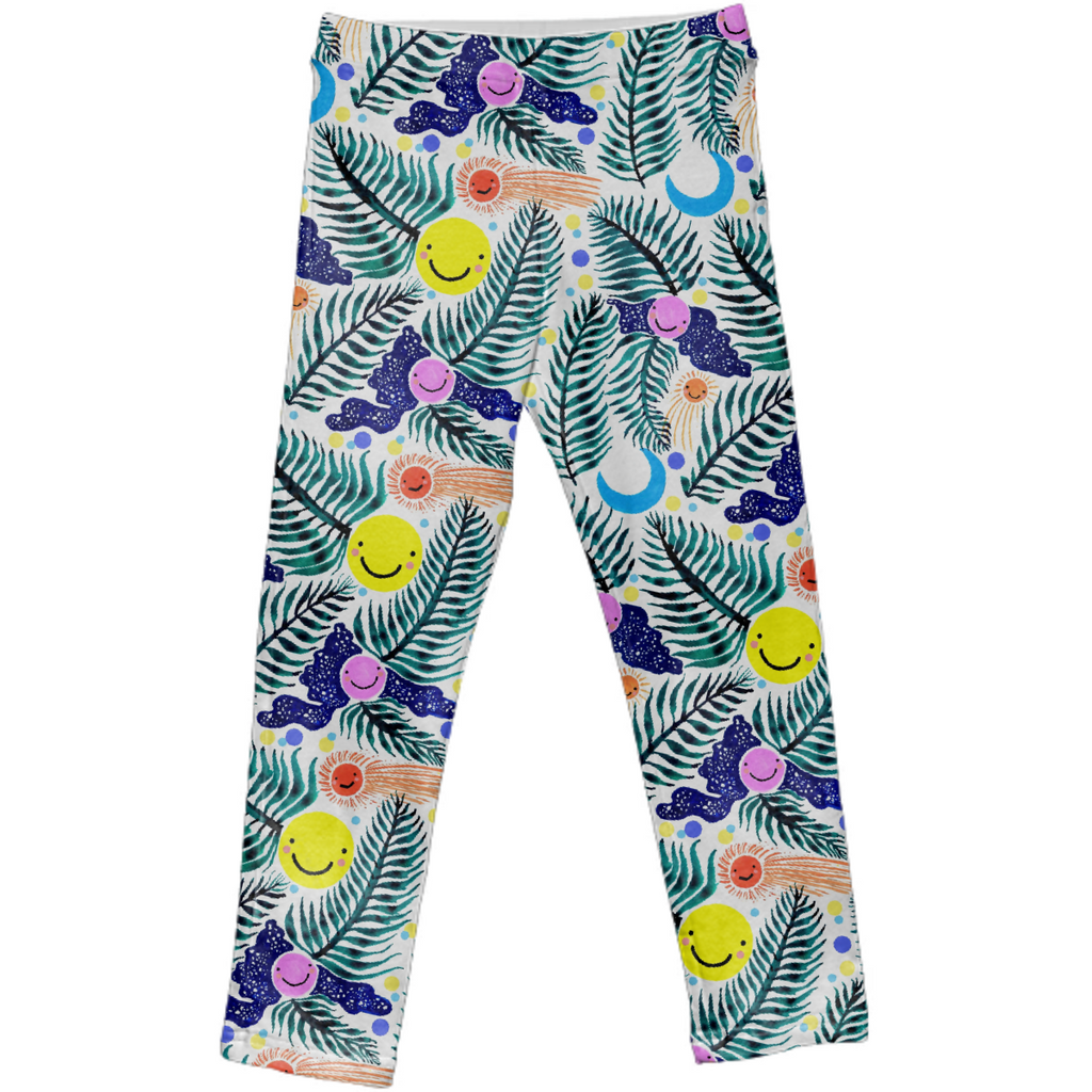 Night Flight Kids Leggings