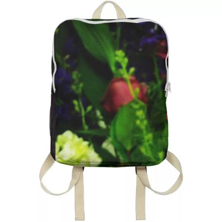 Abstract Bouquet Backpack
