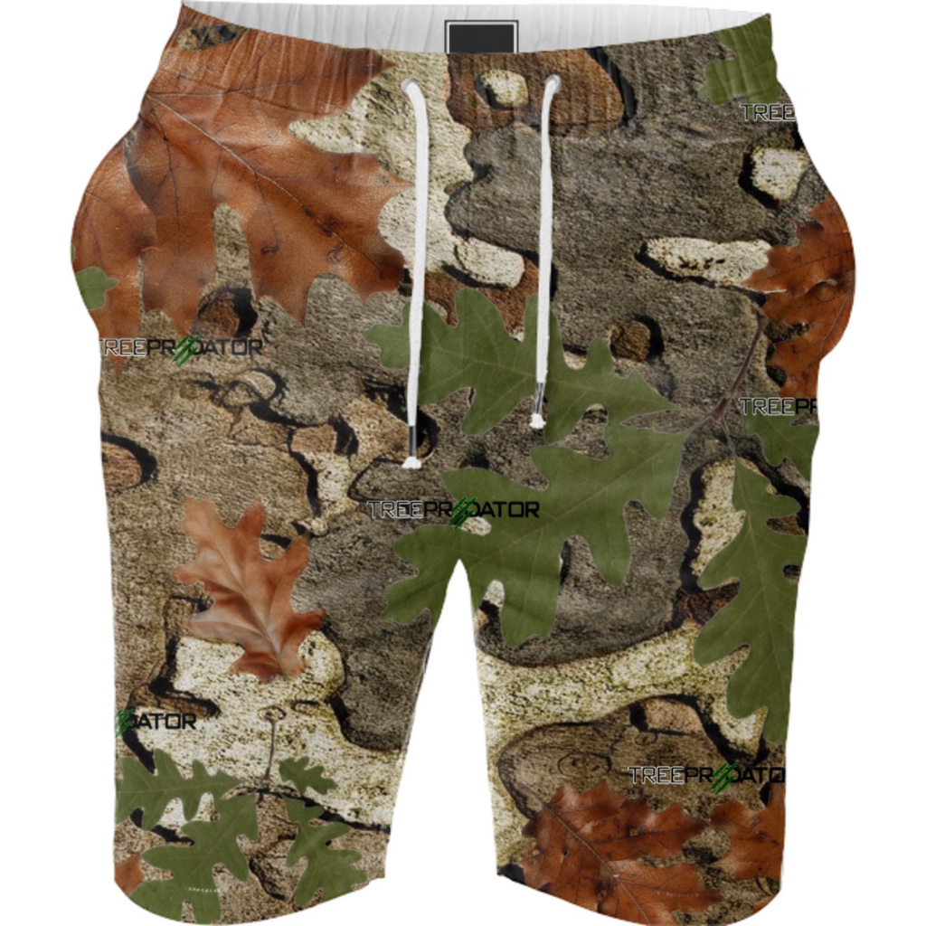 TREE PREDATOR CAMOUFLAGE NEWEST SHORTS