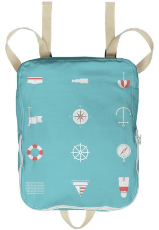 Collard Nine Seas Nautical Backpack
