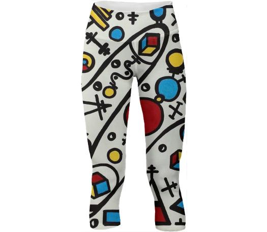 New Maths Yoga Pants