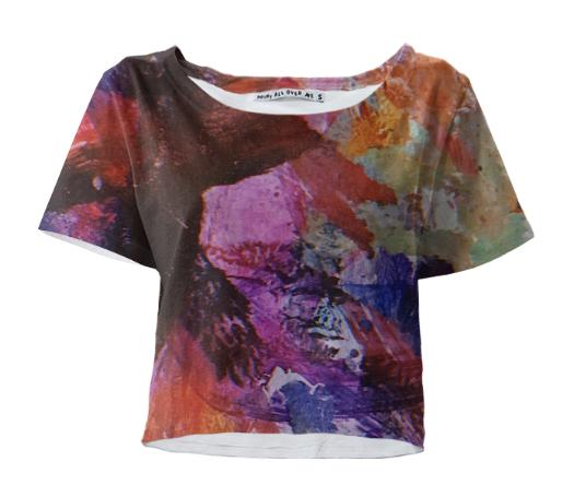 Painted Crop Tee