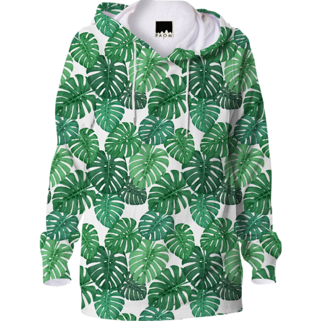 Monstera Jungle Hoody by Frank-Joseph