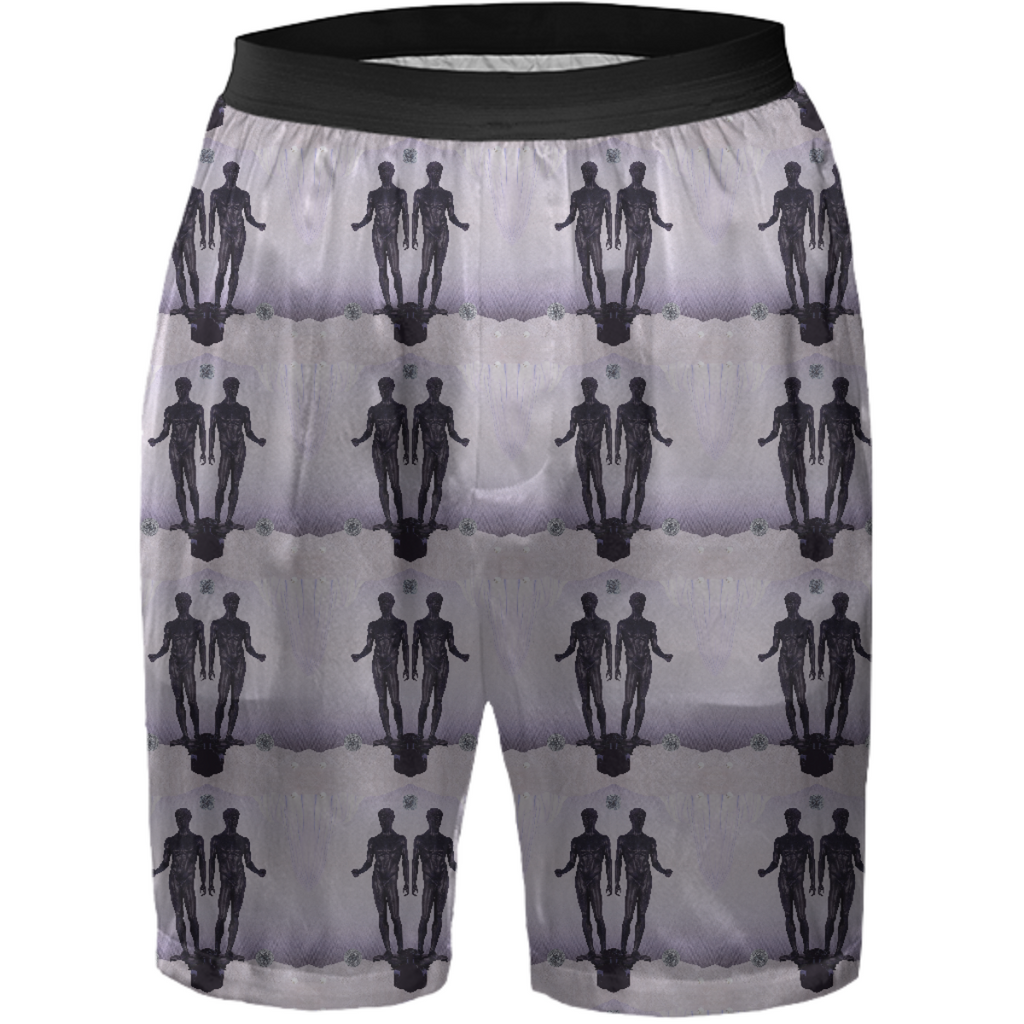 Gemini Silk Shorts