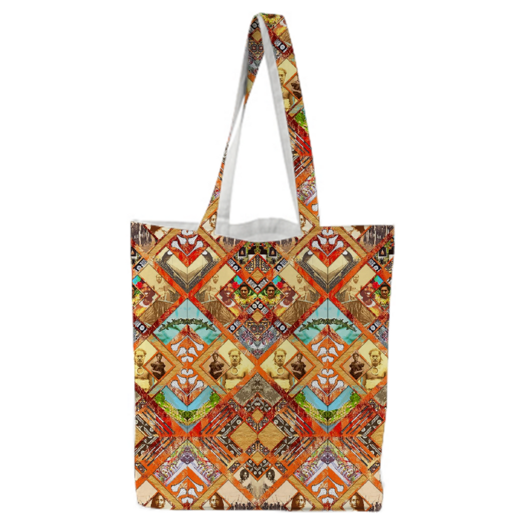 PAOM, Print All Over Me, digital print, design, fashion, style, collaboration, babyboofiji, Tote Bag, Tote-Bag, ToteBag, Fiji, Ancestors, autumn winter spring summer, unisex, Poly, Bags