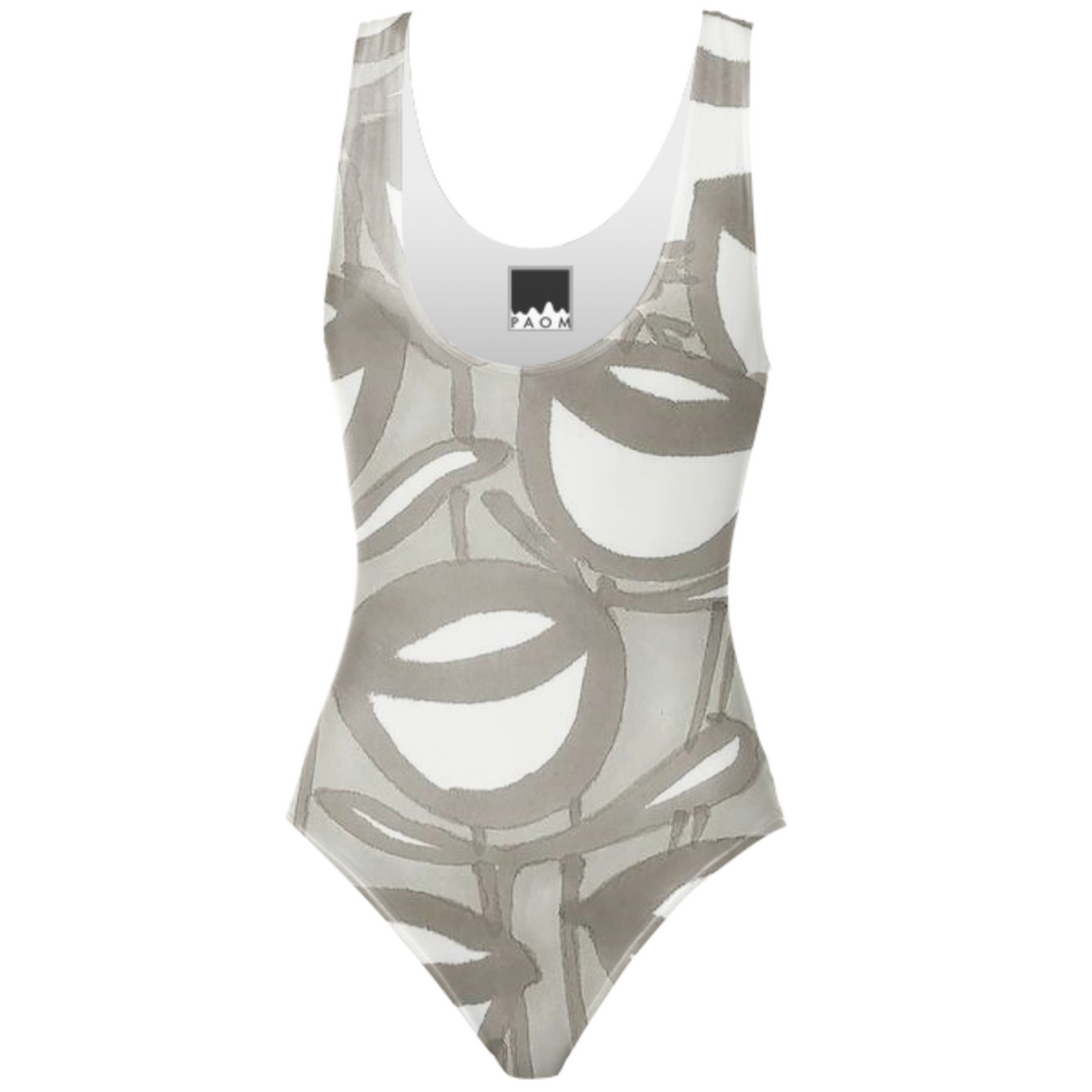 Cup one piece swimsuit
