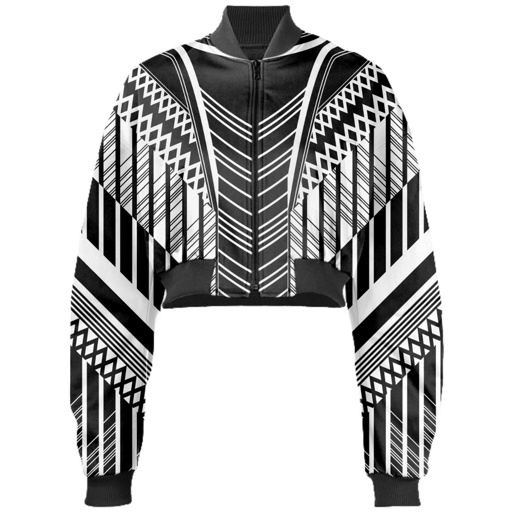 2021 black and white lines trend pattern
