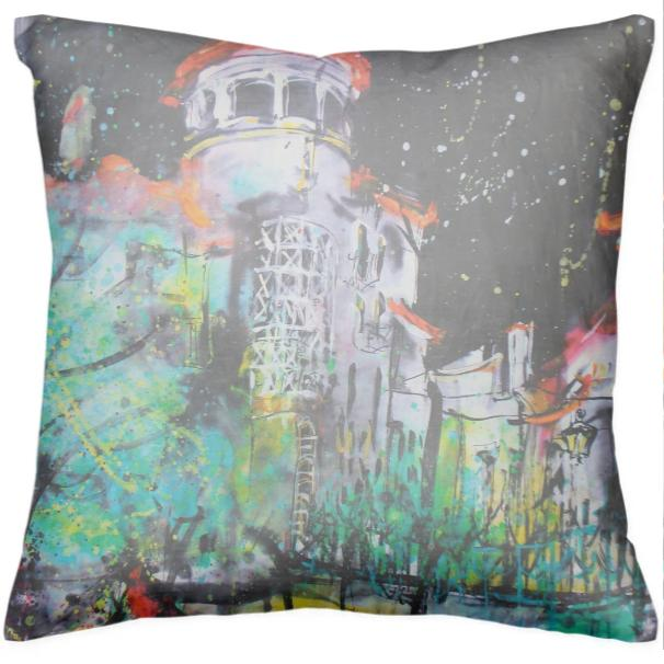 Starry Night In Evora Cushion
