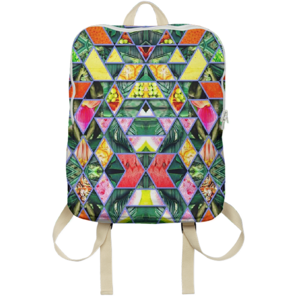 PAOM, Print All Over Me, digital print, design, fashion, style, collaboration, babyboofiji, Backpack, Backpack, Backpack, Taste, Fiji, autumn winter spring summer, unisex, Poly, Bags