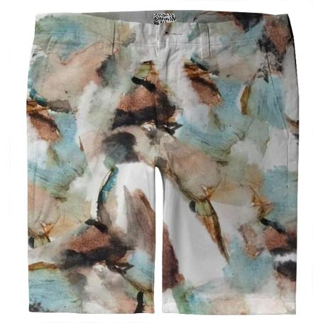 Ink Water Trouser Shorts