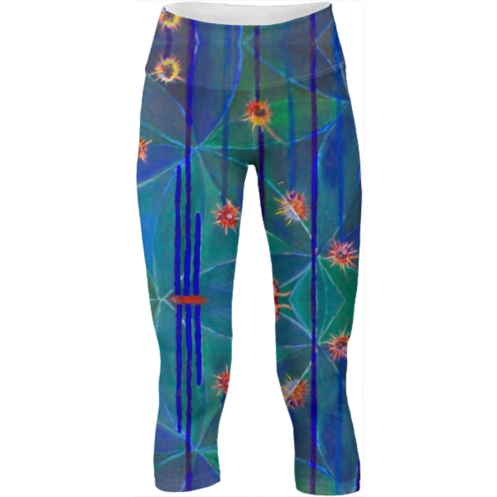 Flowers of Life Yoga Legging