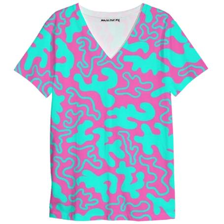 Chic Germs Pink Teal