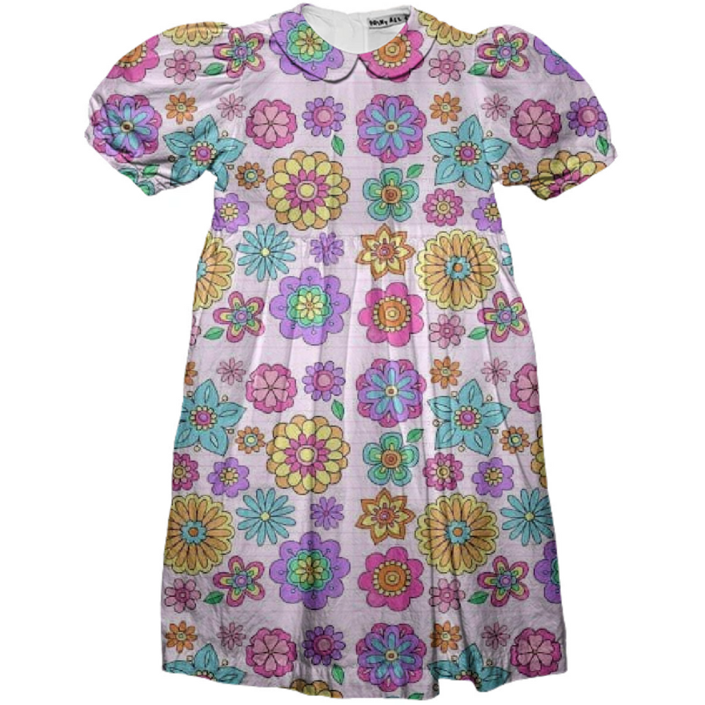 My Kiddie Floral Party Dress