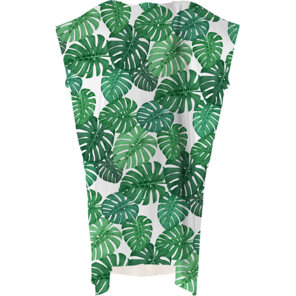 Monstera Jungle Square Dress by Frank-Joseph