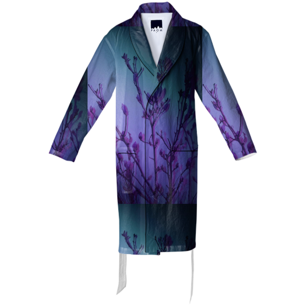 GHOSTLY PLANT BATHROBE