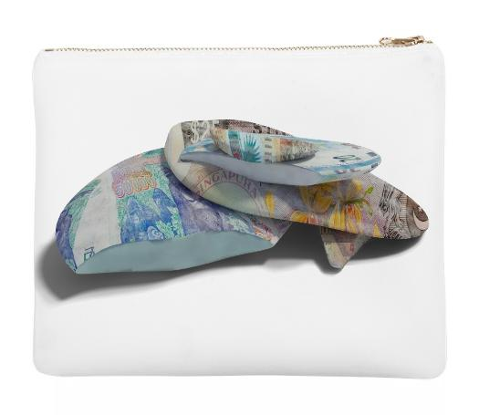 PAOM, Print All Over Me, digital print, design, fashion, style, collaboration, imagine-universal-basic-income, imagine universal basic income, Neoprene Clutch, Neoprene-Clutch, NeopreneClutch, Katrin, Krumm, autumn winter spring summer, unisex, Neoprene, Bags