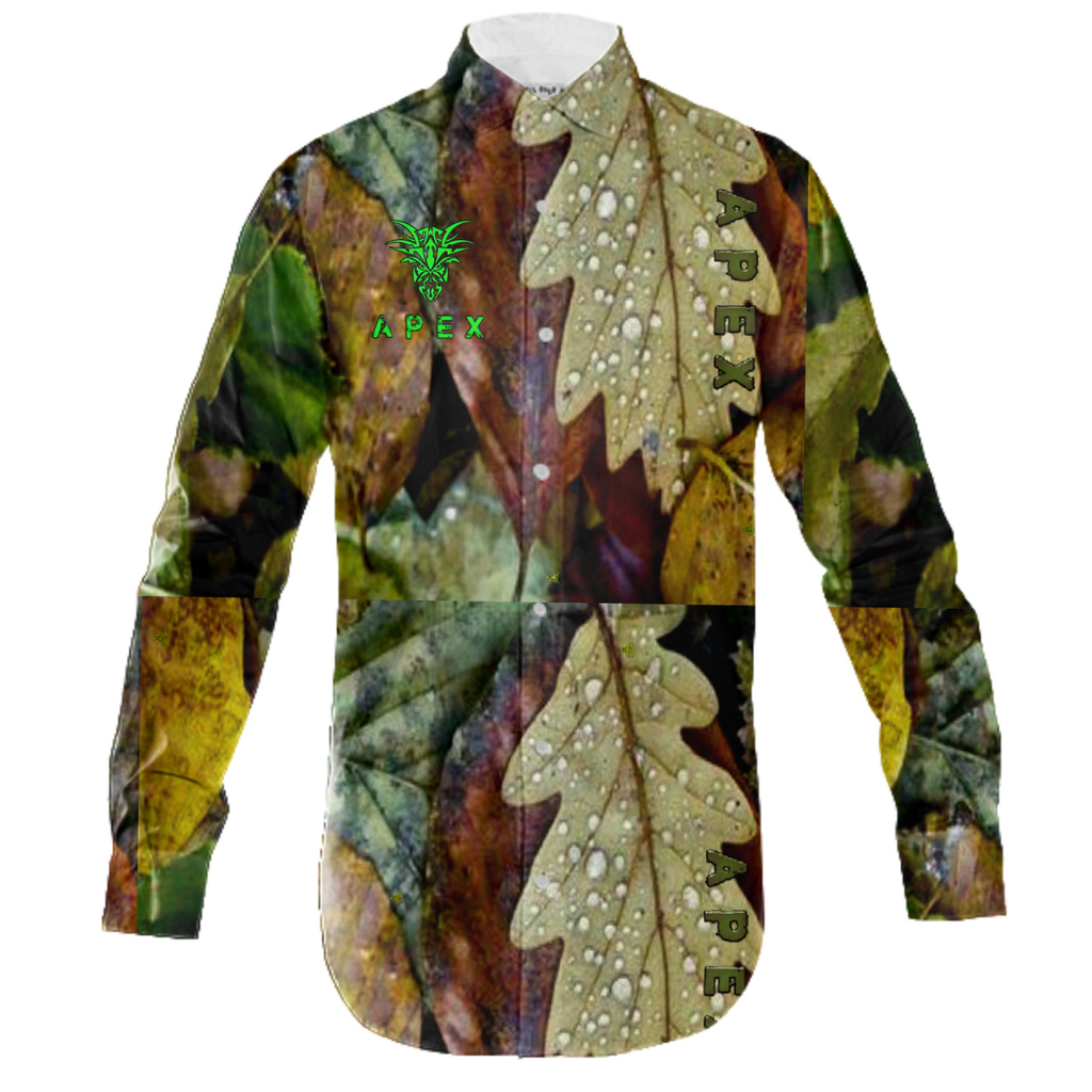 APEX PREDATOR CAMO BUTTON UP