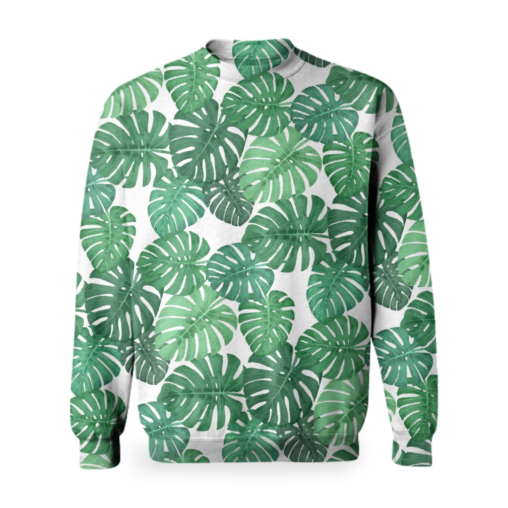 Monstera Jungle Sweatshirt by Frank-Joseph